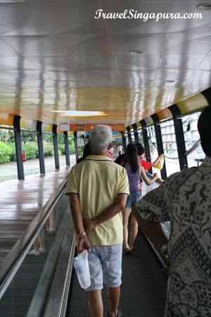 Sentosa Boardwalk - Travelator