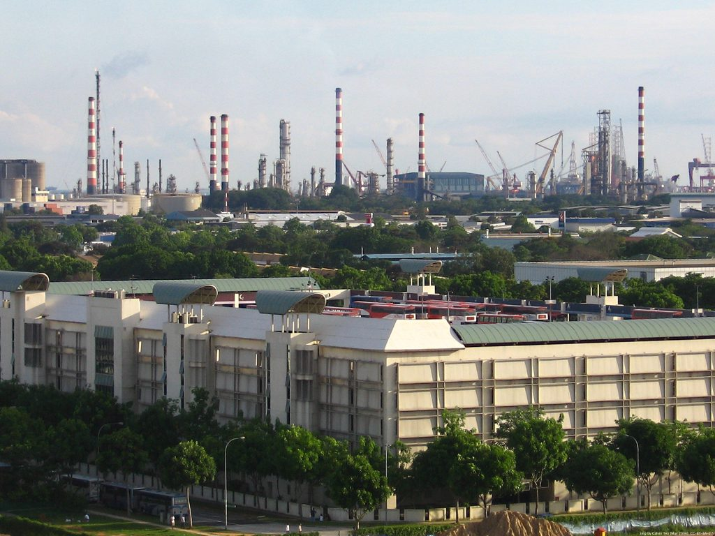 Transportation Industrial Park Singapore