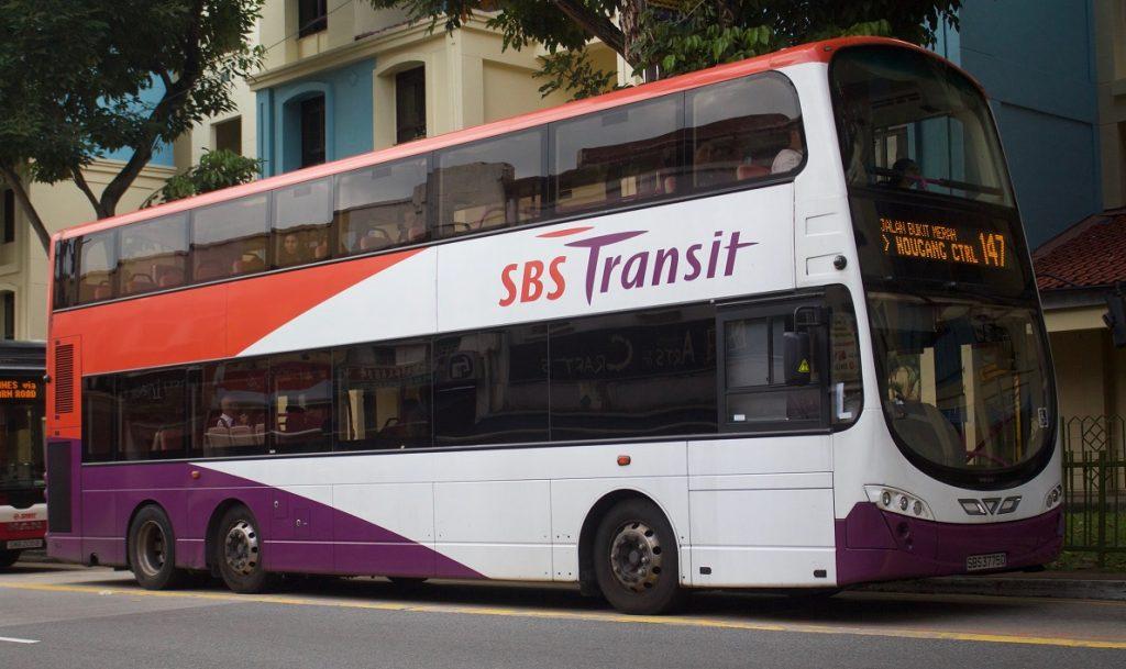 SBS Bus Singapura - Johor Baru