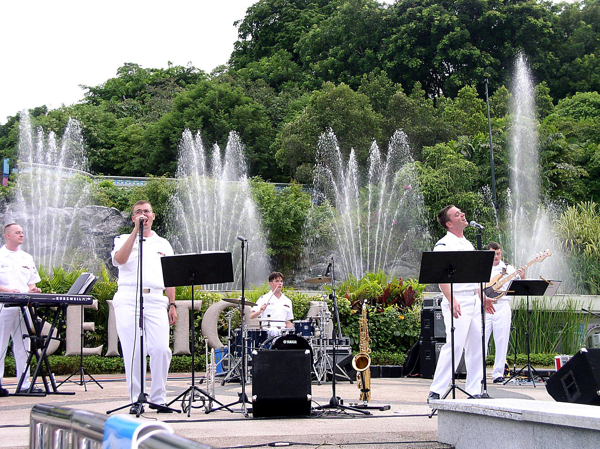 Sentosa Musical Fountain